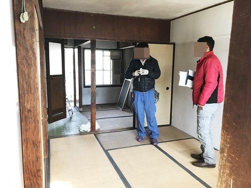 大阪府和泉市団地解体工事